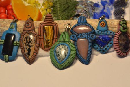 pendentif artisanat tibétain (2)
